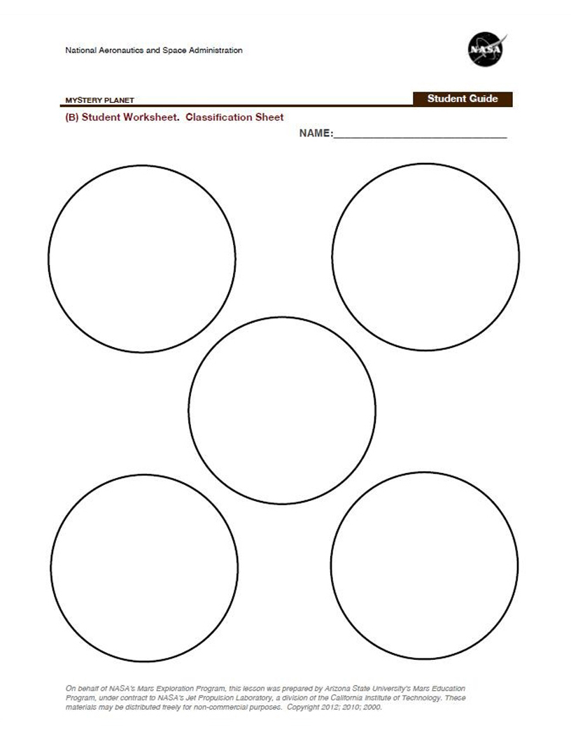 nasa solar system printables - photo #17