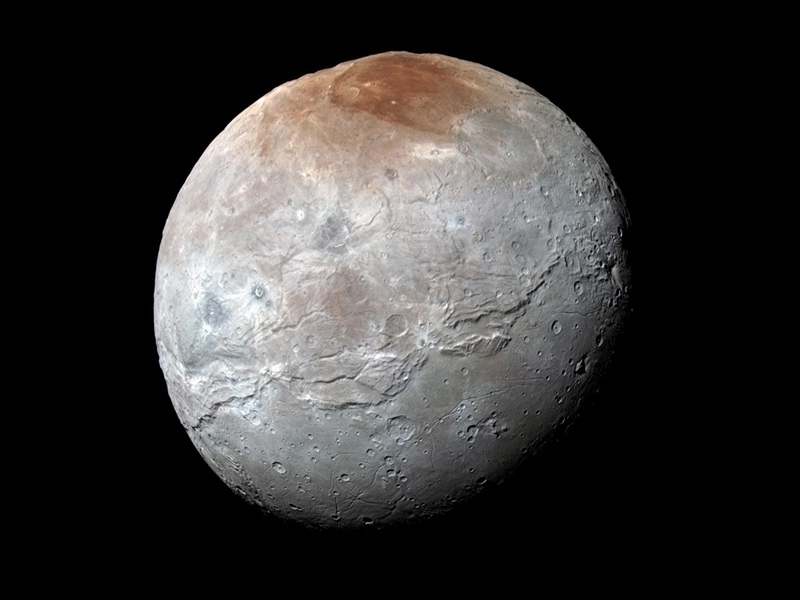 A image of Pluto's moon, Charon