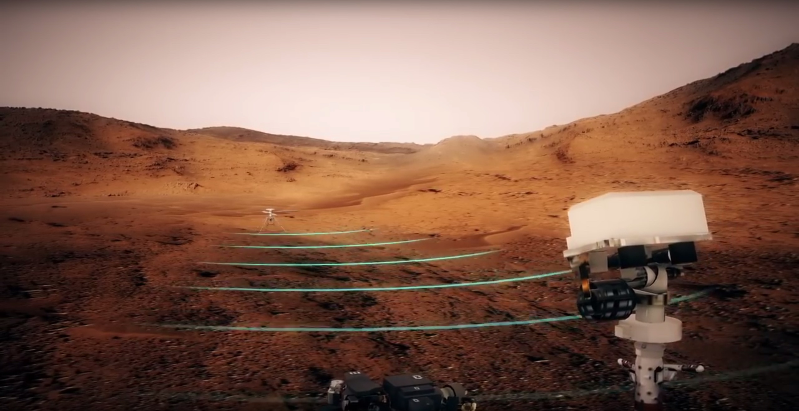 martian helicopters human colonies and drilling for - HD2560×1319