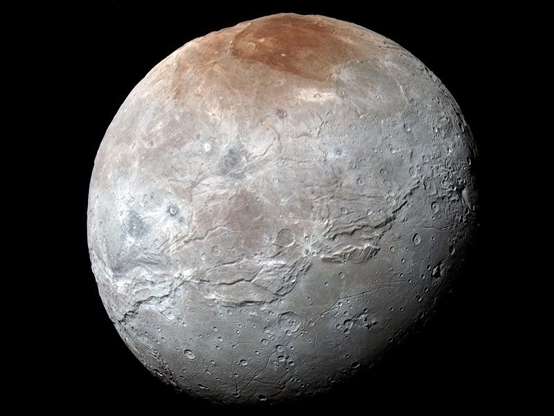 Full view of Moon Charon
