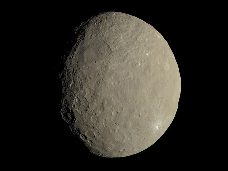 Full disc view of Ceres.