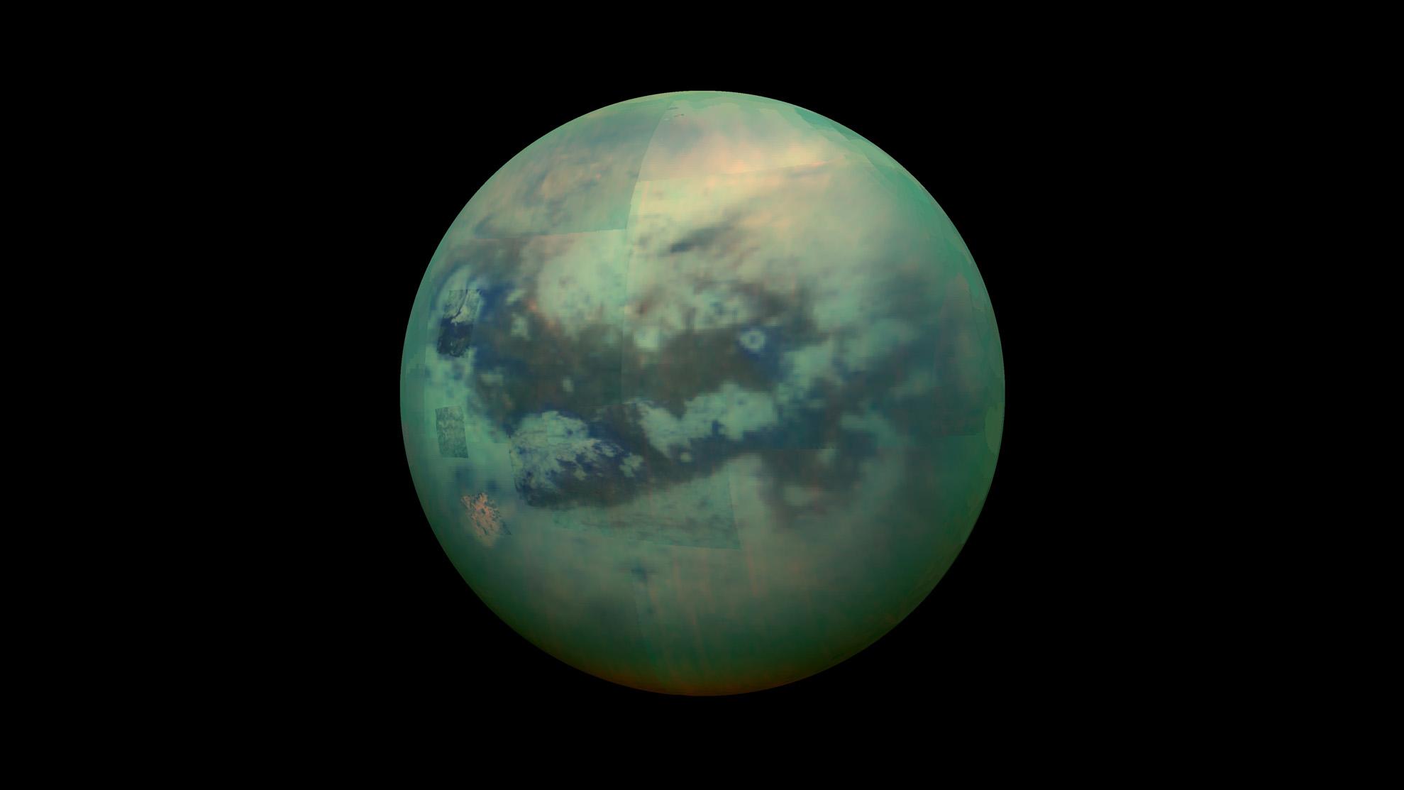 La NASA mappa la luna di Saturno, Titano, che può supportare la vita 1