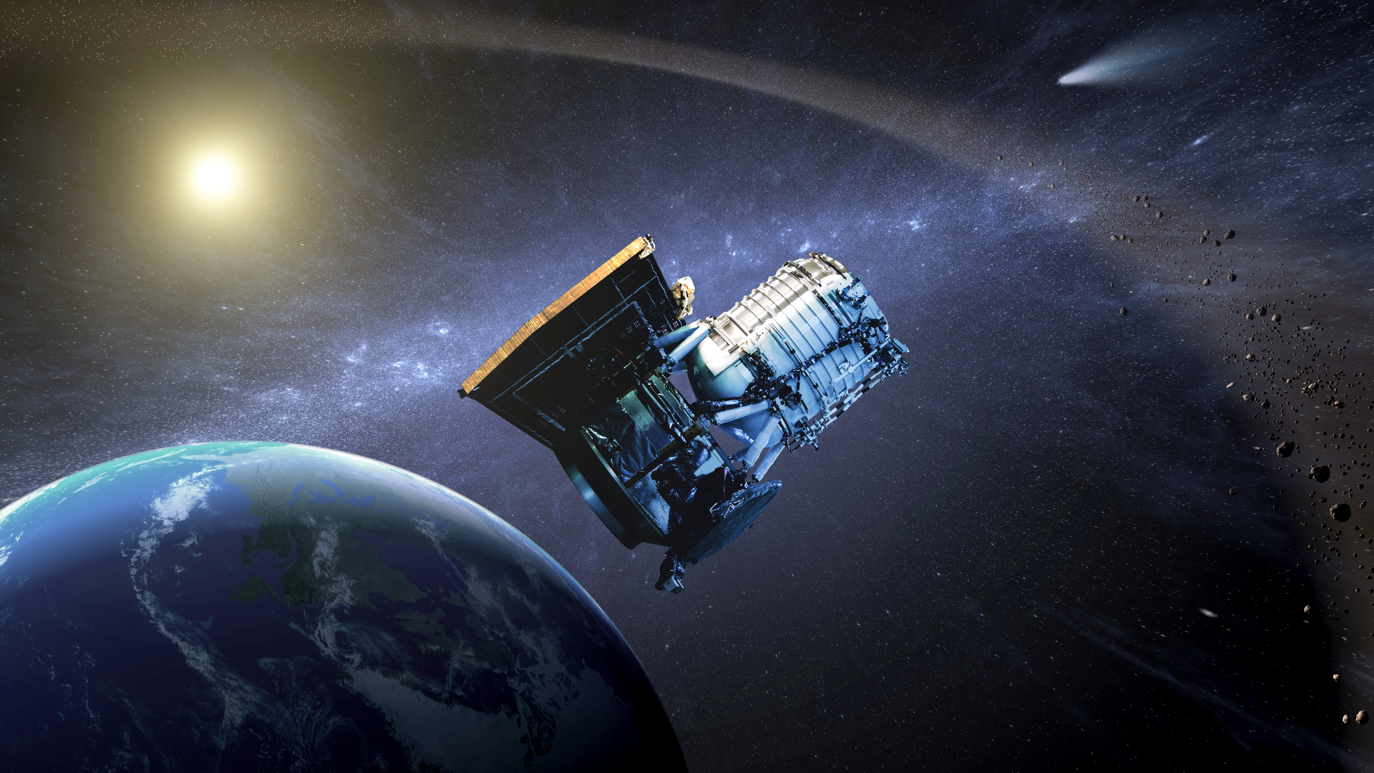The NEOWISE spacecraft
