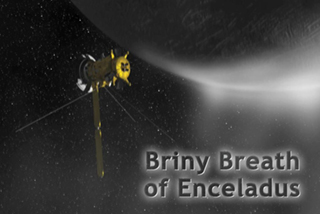 Briny Breath of Enceladus