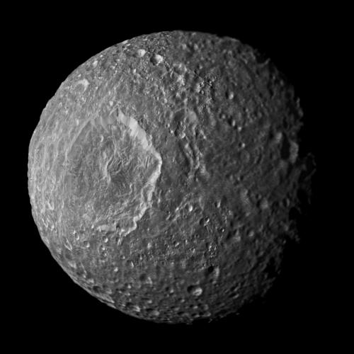 Mosaic of Saturn's Moon Mimas