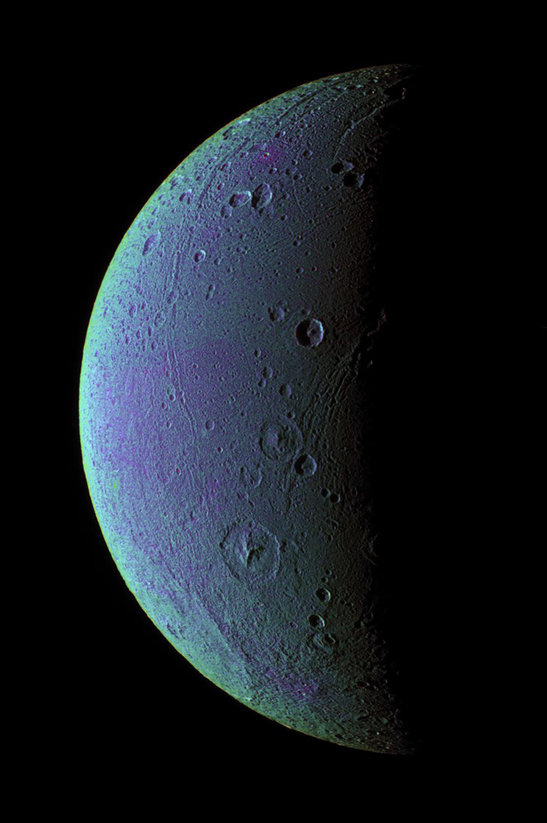 Dione Has Her Faults (False Color)