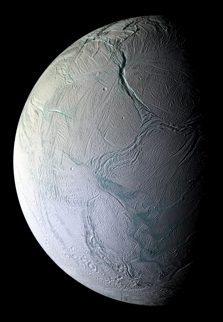 The possibility of plate-tectonic-like spreading in the Enceladus south polar region
