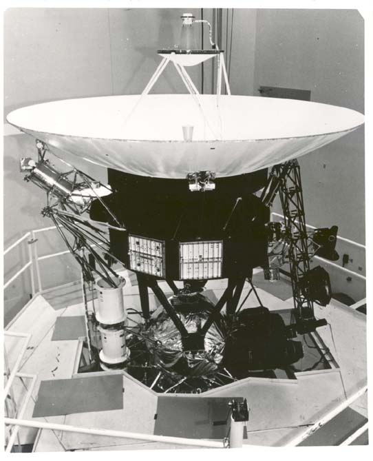 Prototype Voyager spacecraft