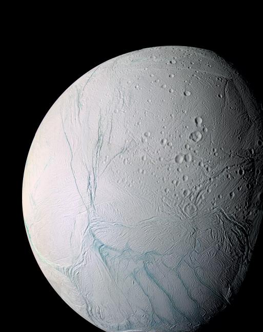 Tiger stripes Enceladus