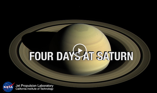 Staring at Saturn - video grab