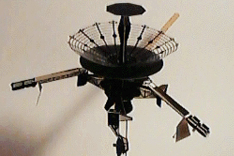 Galileo Spacecraft Model