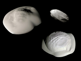 Saturn's small moons