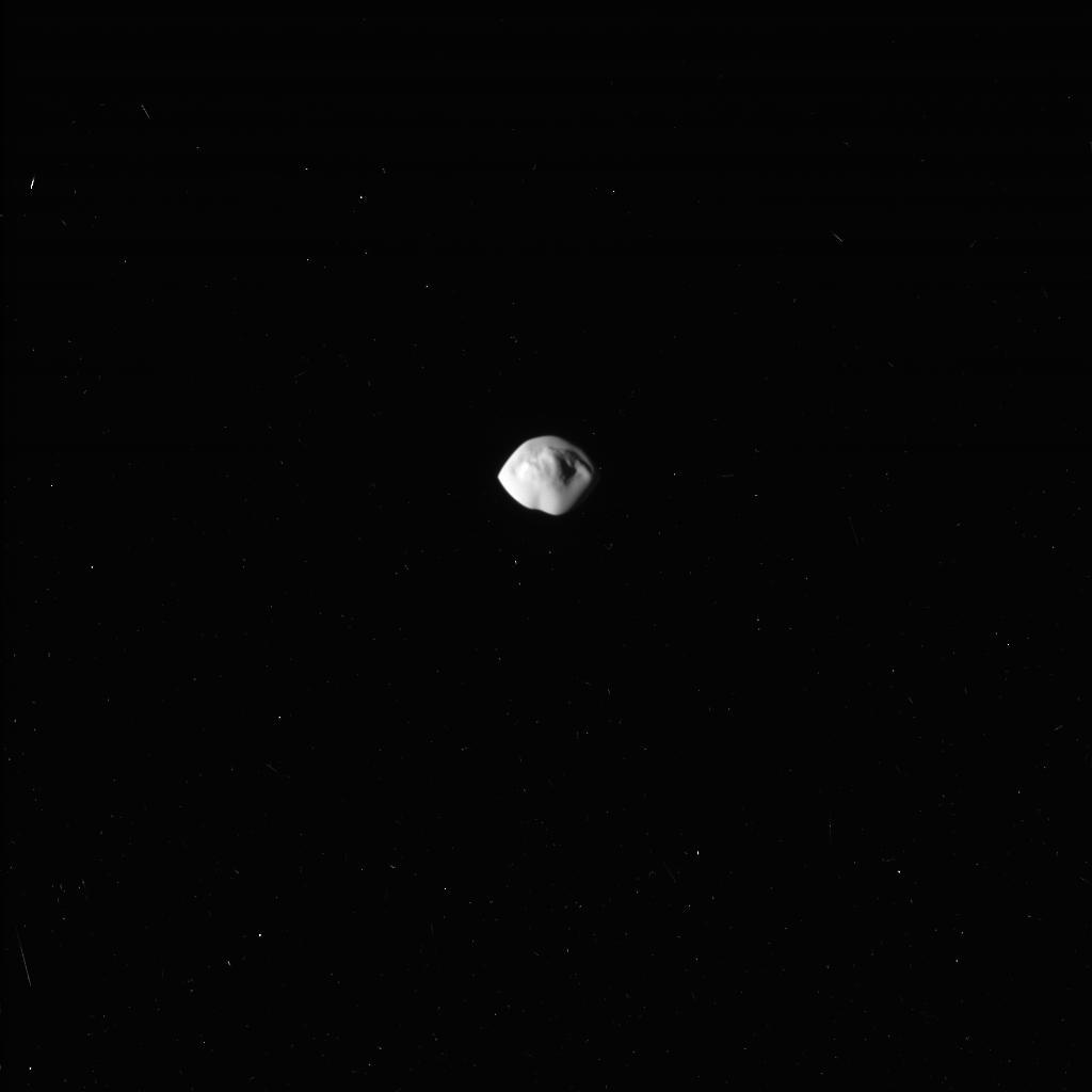 """Cassini Sees """"Flying-Saucer"""" Moon Atlas Up Close – Solar ..."""