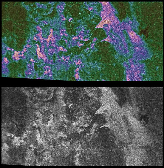 Radar Shows Titan Live and in Color