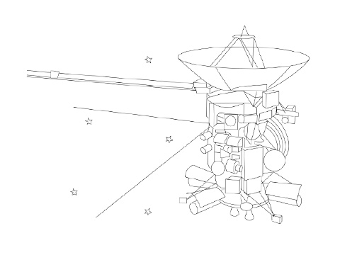 saturn v coloring pages - photo#29