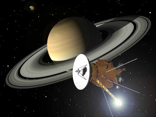 Cassini Set to Ring Saturn Today