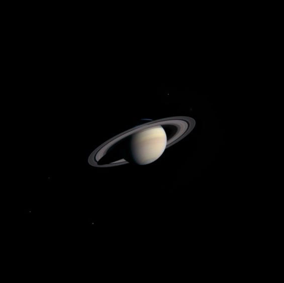 Saturn Details Become Visible To Cassini Spacecraft