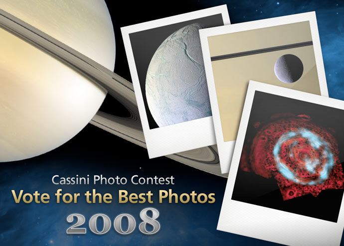 Cassini Image Poll - Best of 2008