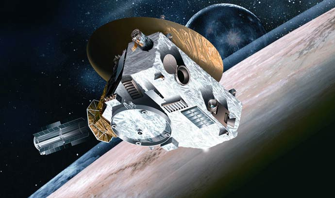 Artist conception of New Horizons Spacecraft