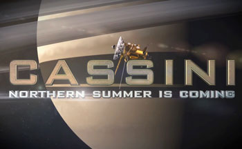 What incredible things will the Cassini spacecraft at Saturn see and do over the next few years?