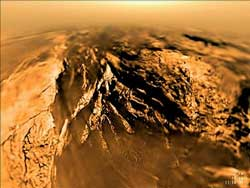 Titan seen by the European Space Agency's Huygens Descent Imager/Spectral Radiometer
