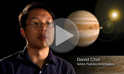NASA postdoctoral fellow David Choi