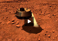 """Bouncing on Titan: Motion of the Huygens Probe in the Seconds After Landing"