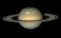 Telescopic View of Saturn 2