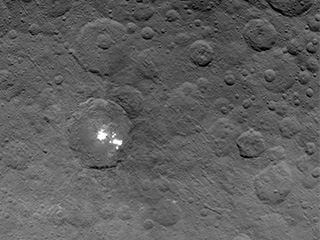 The brightest spots on Ceres.