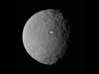 Image of dwarf planet Ceres from NASA's Dawn spacecraft