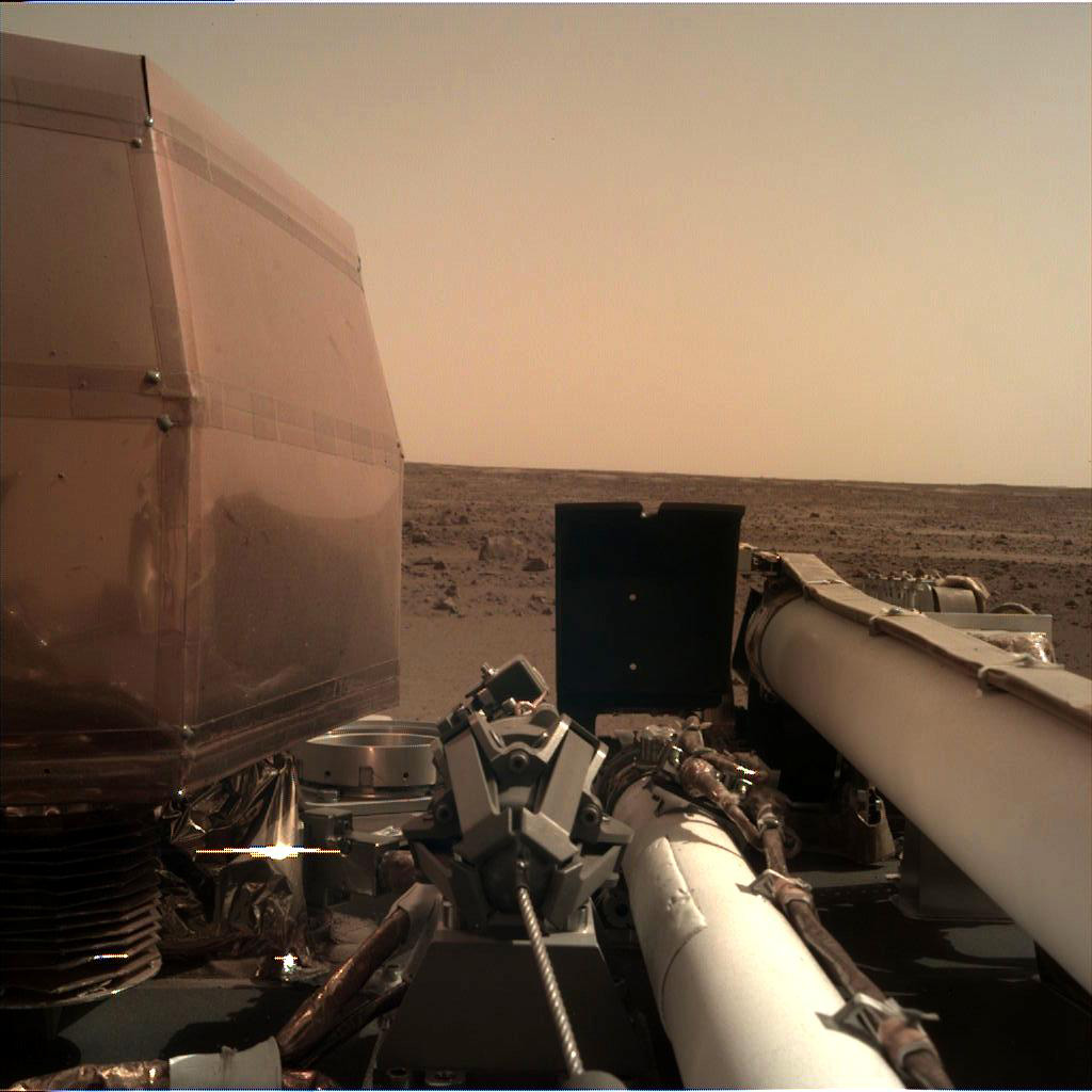 View of Mars from InSight Lander