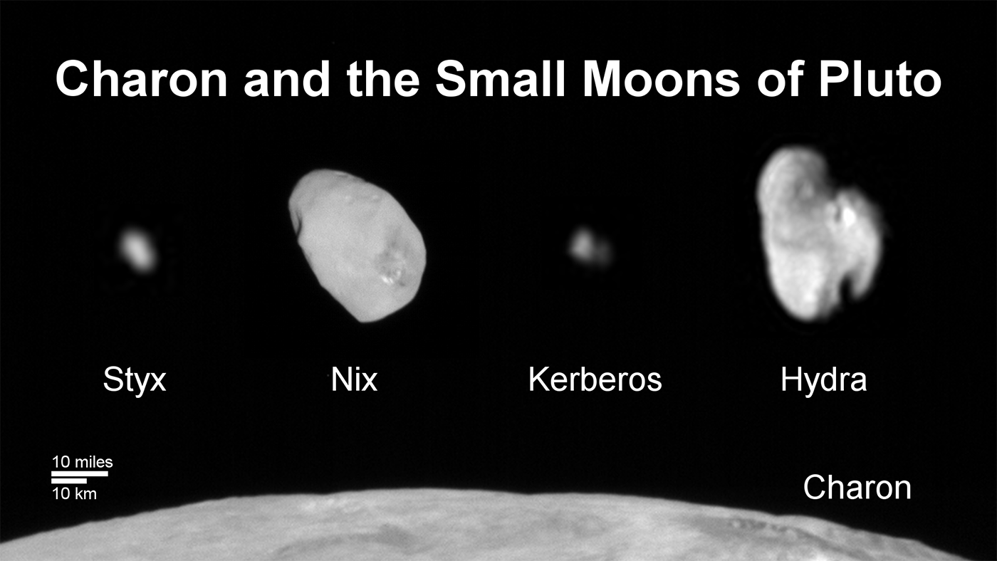 In Depth | Pluto Moons