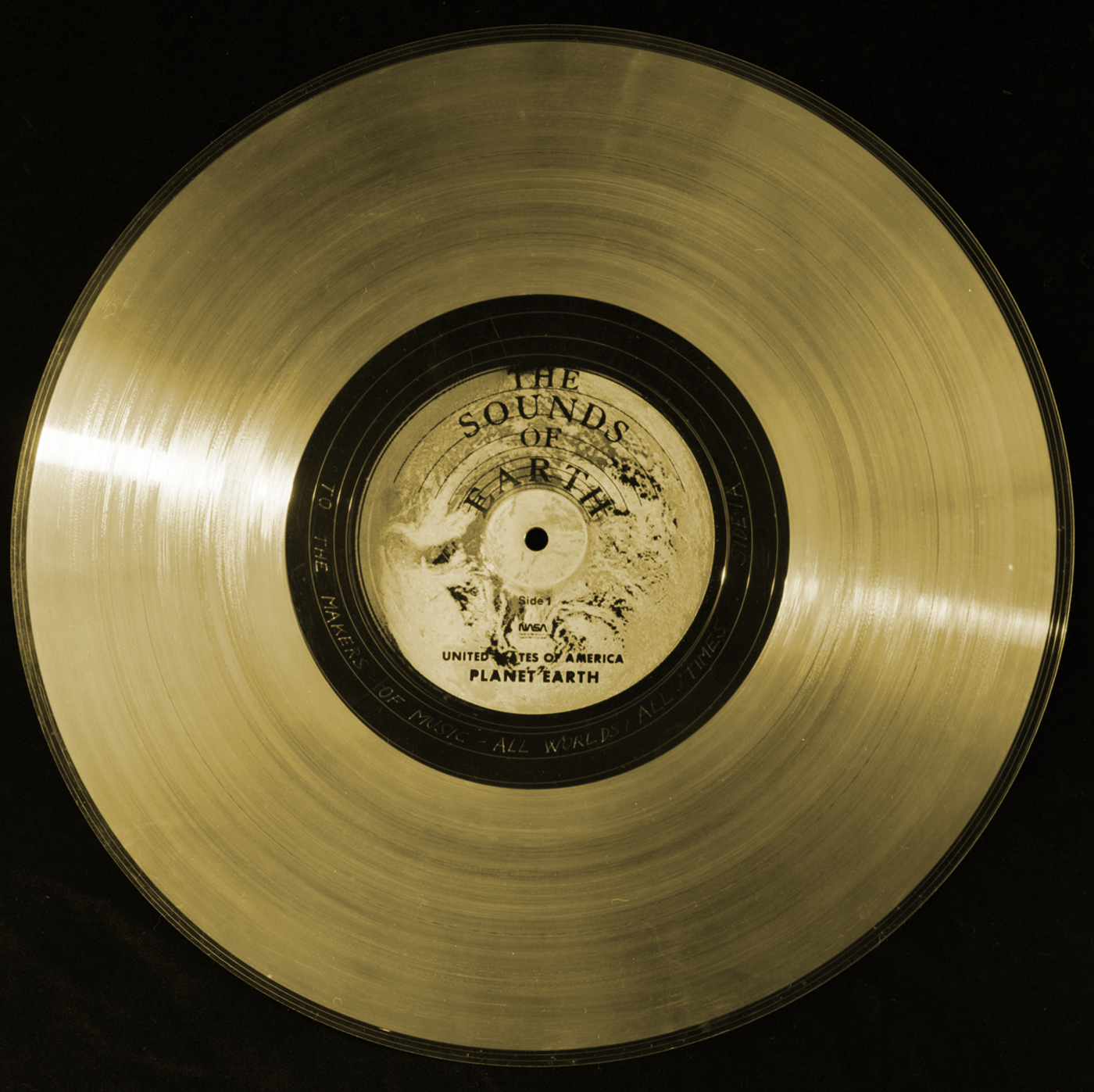Golden Record Inscription