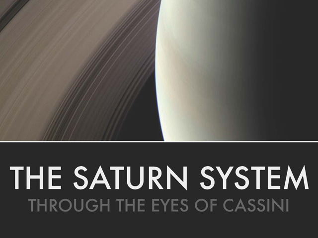 Image of Downloadable electronic book showcasing the discoveries of the Cassini-Huygens mission to Saturn.