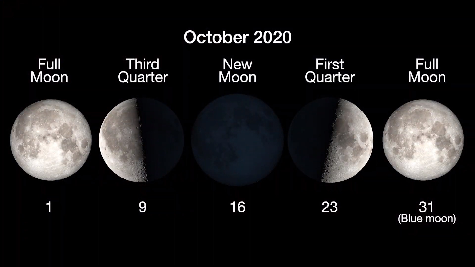 Moon Phase For Halloween 2020 October 2020   Part II: The Next Full Moon is a Halloween Hunter's