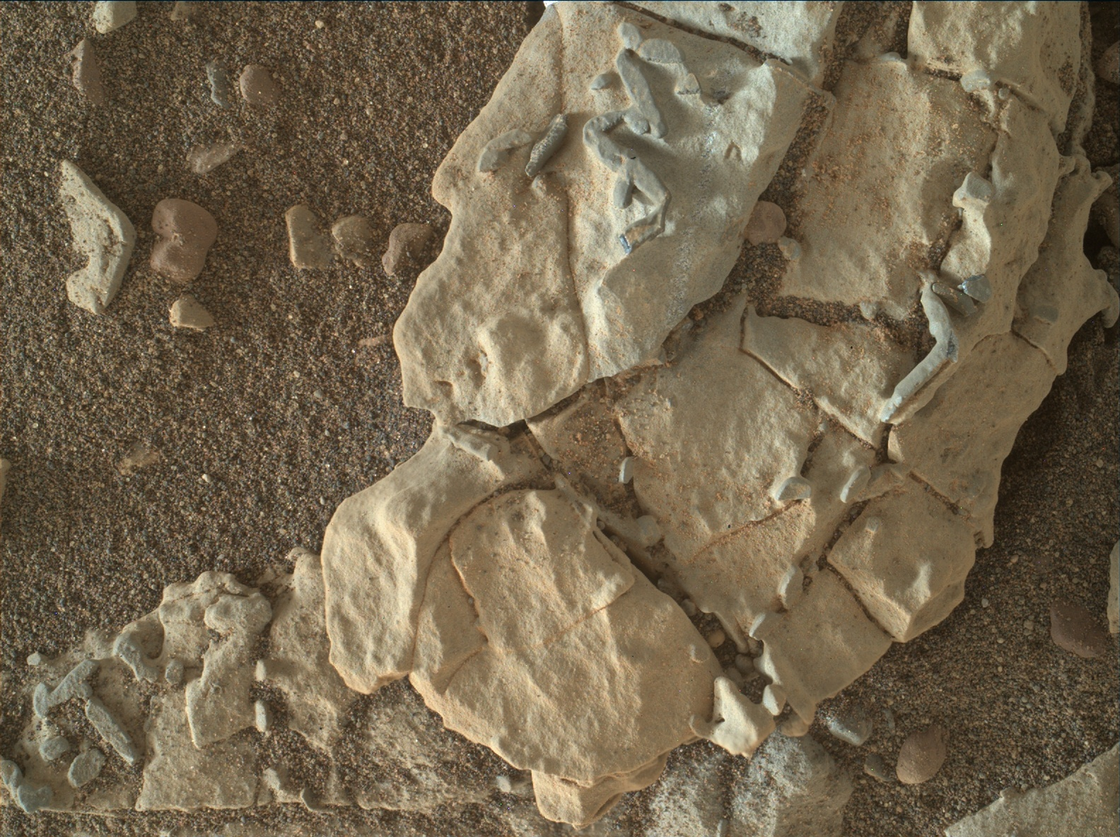 Tiny Crystal Shapes Get Close Look From Mars Rover Solar System
