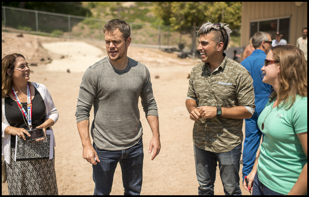 Matt Damon and Bobak Ferdowsi
