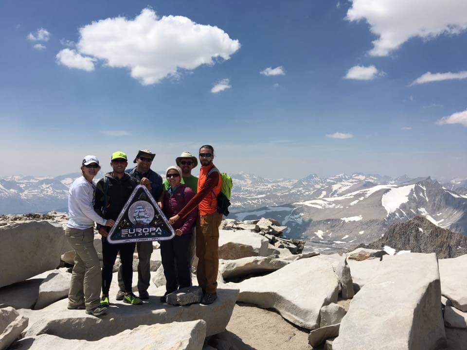 Clipper team at Mt Whitney