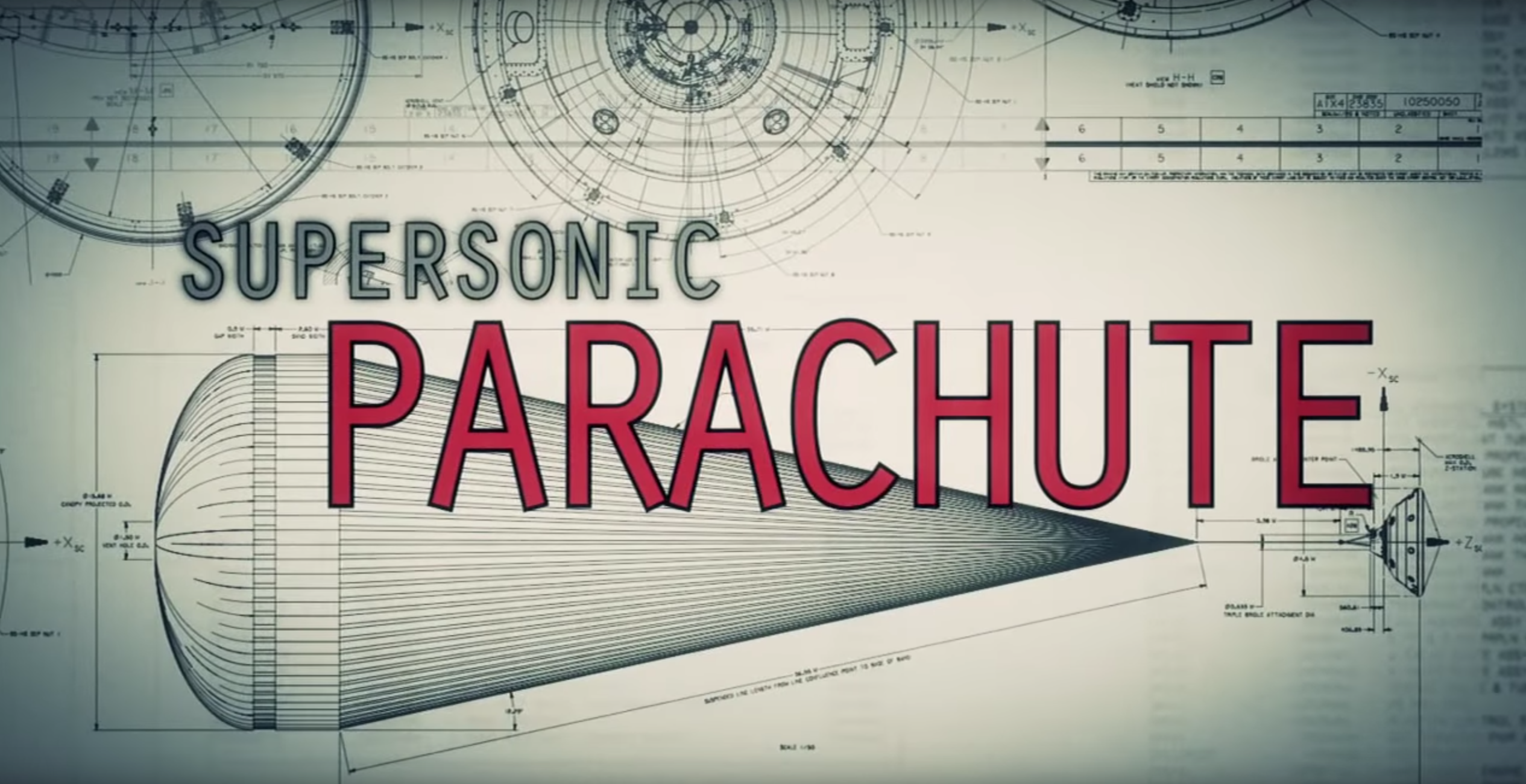 Super Sonic Parachute graphic