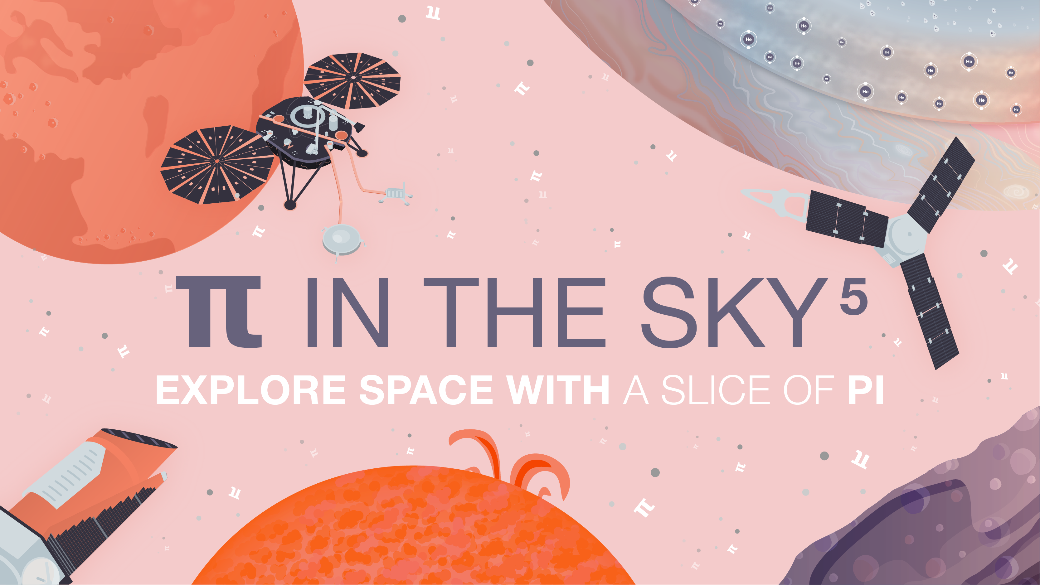 Pi in the Sky 5: Explore Space With A Slice of Pi