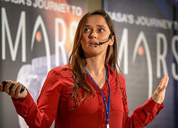 Laura Kerber (Credit: NASA/Bill Ingalls )