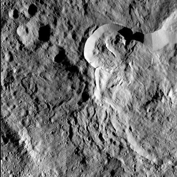 Flow on Ceres