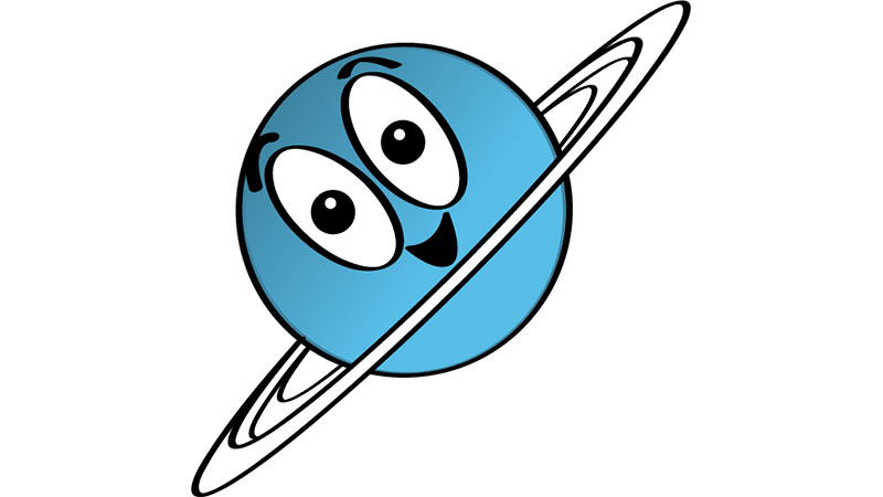 Illustration of Uranus