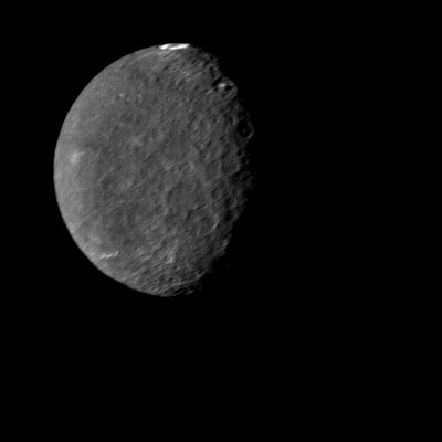 Voyager 2 image of Umbriel.