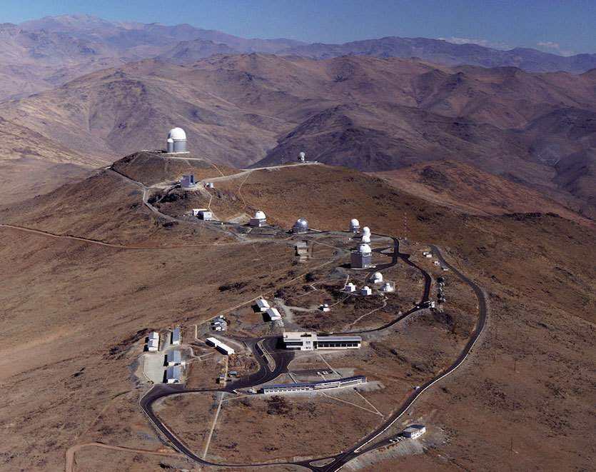 Image of European Southern Observatory's La Silla observation site