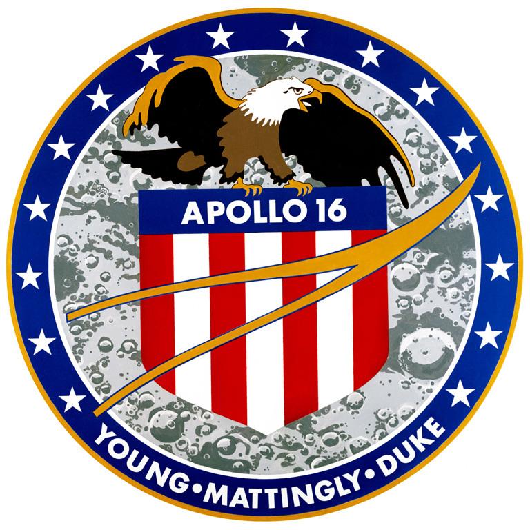 Apollo 16 logo.