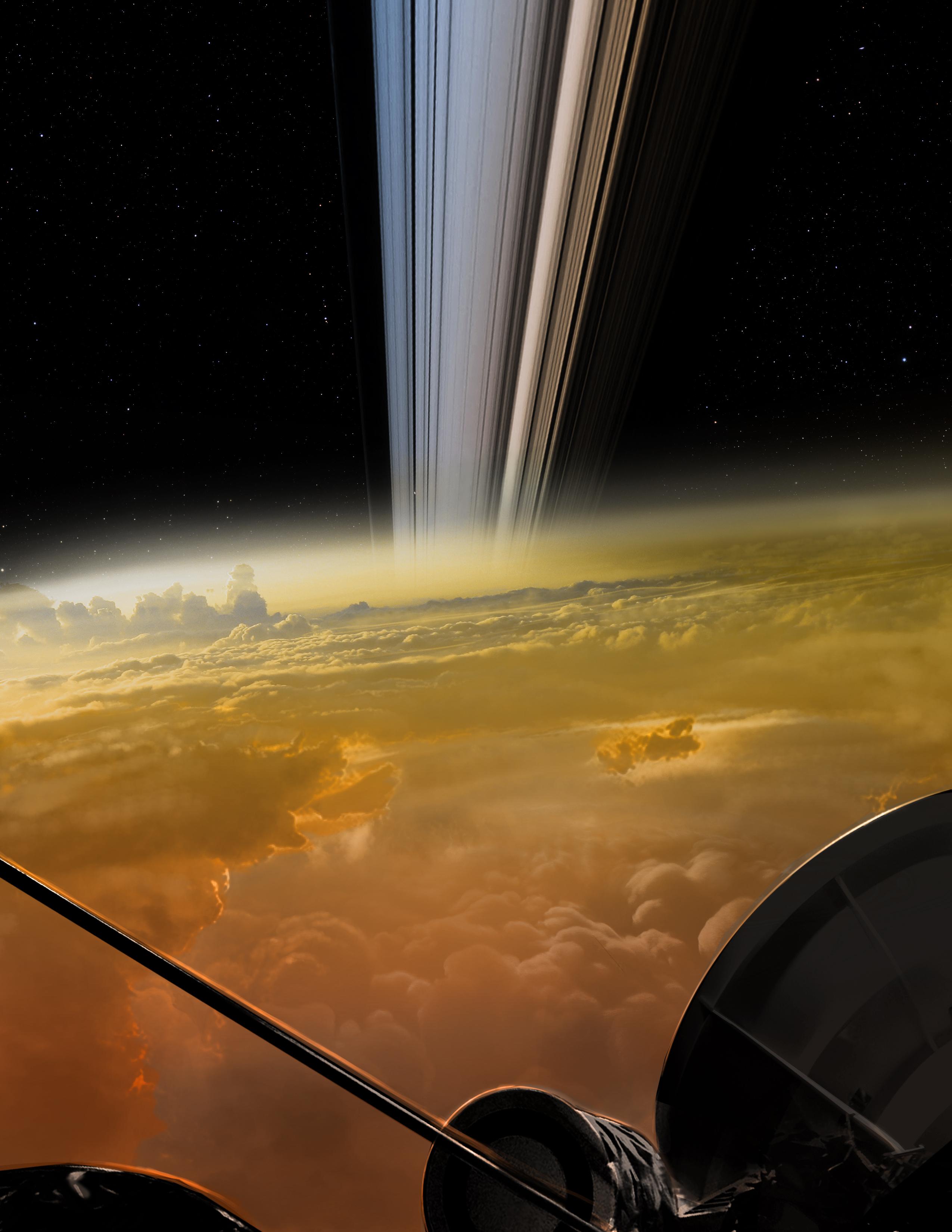 Cassini Grand Finale Concept