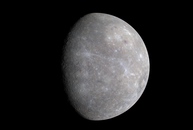 color planet mercury - HD3000×2025