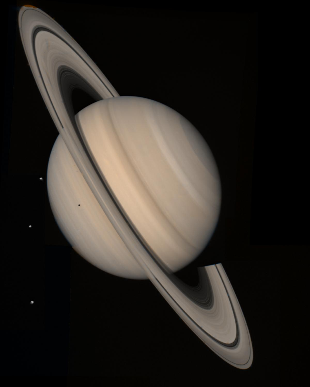 Saturn Taken from Voyager 2 | NASA Solar System Exploration