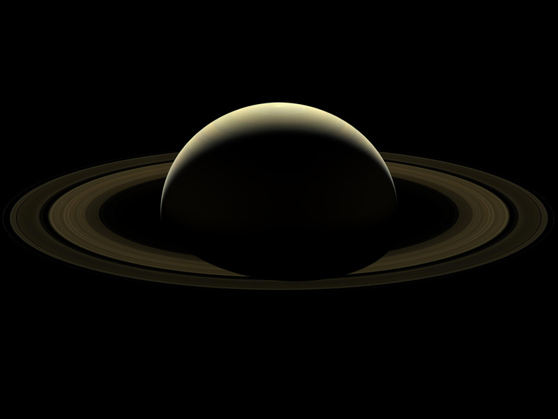 Overview saturn solar system exploration nasa science slide 1 a farewell to saturn altavistaventures Images